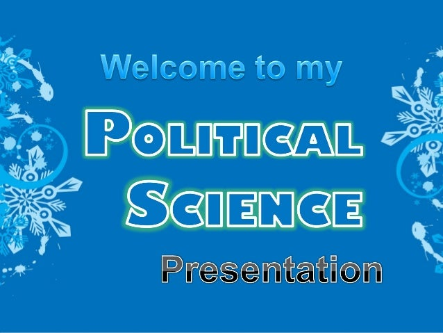 Political science term paper ideas