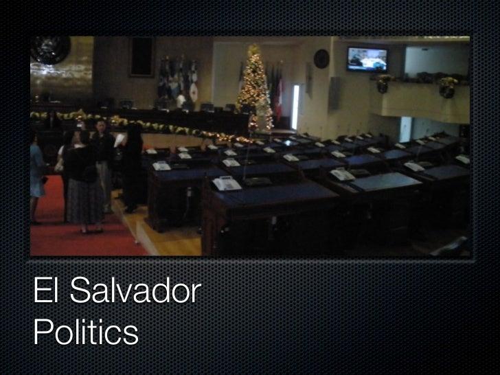 El SalvadorPolitics