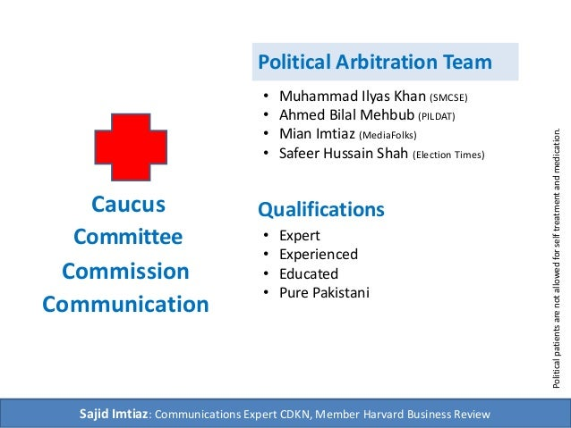 Sustainable Political Arbitration Solution