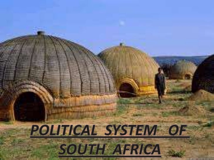 Political system of south africa