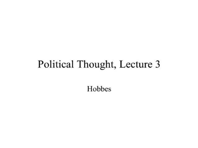 Political Thought Through the Ages, Lecture 3 with David Gordon - Mises Academy