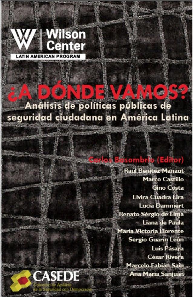 Politicas publicas de seguridad en America Latina