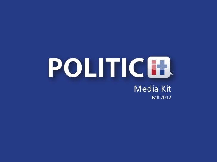 Media Kit    Fall 2012