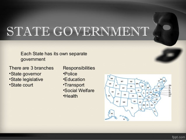 State Government of India State Government Each State