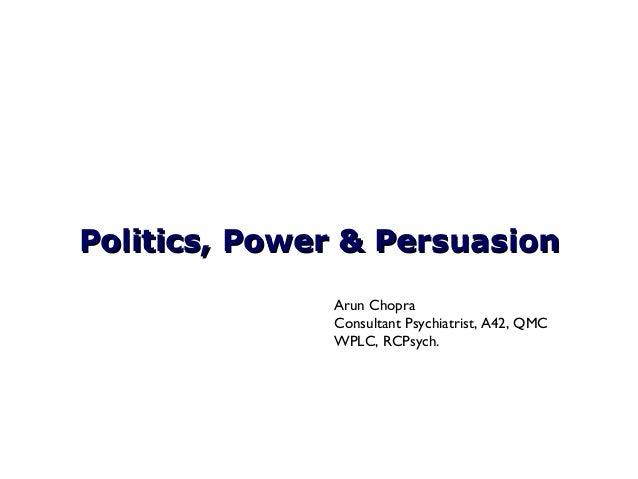 Politics march2013