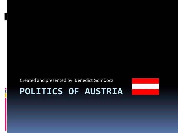 Politics of Austria