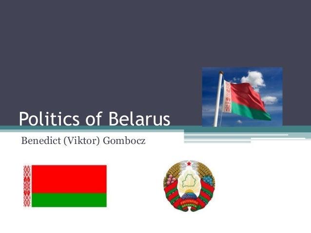 Politics of BelarusBenedict (Viktor) Gombocz