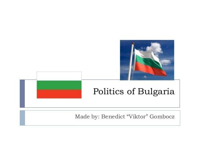 Politics of Bulgaria