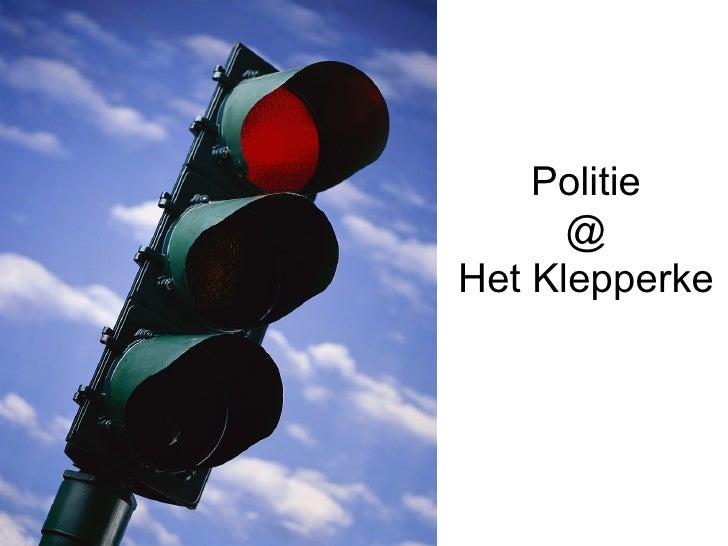 Politie @ Het Klepperke
