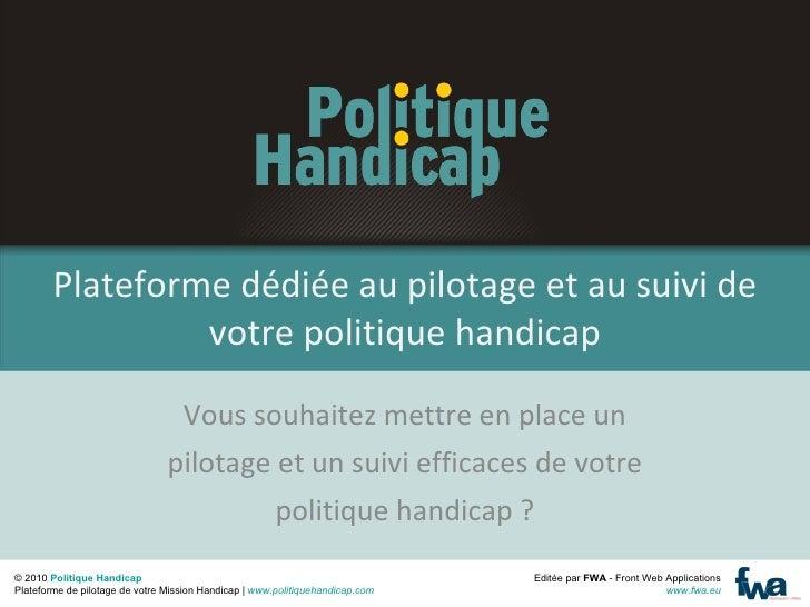Politique Handicap