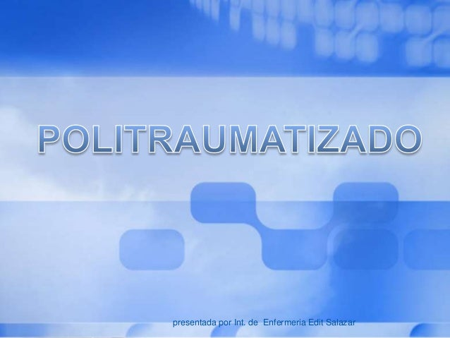 L/O/G/O presentada por Int. de Enfermeria Edit Salazar
