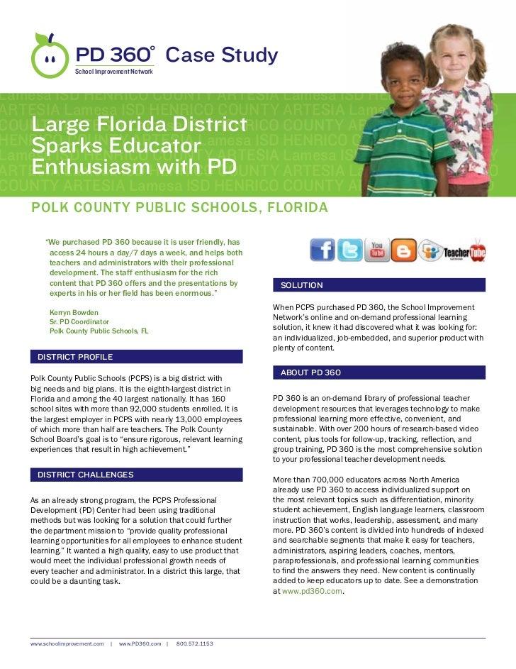 Polk County Public Schools, FL Case Study