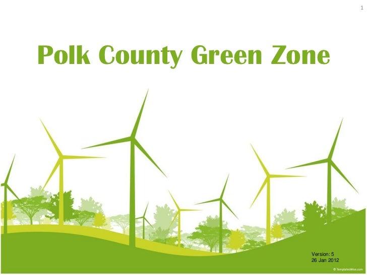 Polk county green zone