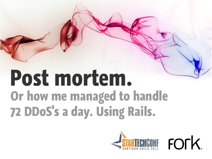 Post mortem.Or how me managed to handle72 DDoSs a day. Using Rails.