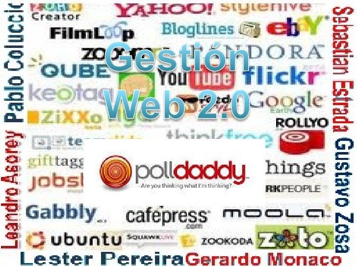 Polldaddy Gestion de la Web 2.0