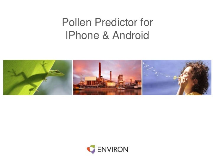 iPhone and Andoid App on Pollen Forecast fir hay fever (Australia Only)