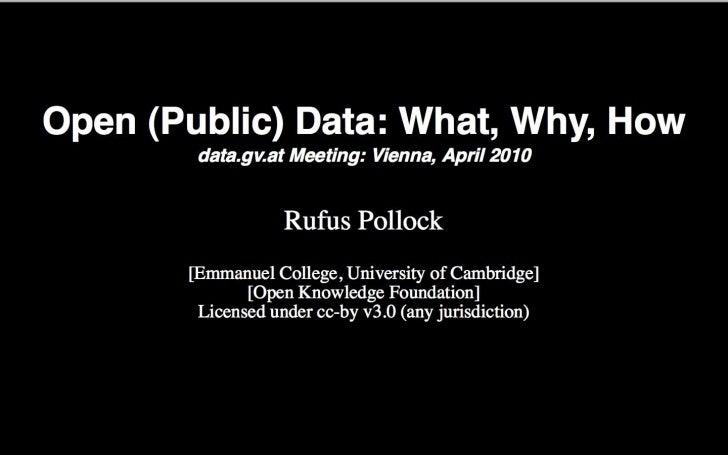 Keynote: Rufus Pollock