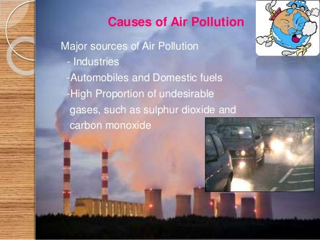 sources of air pollution essay