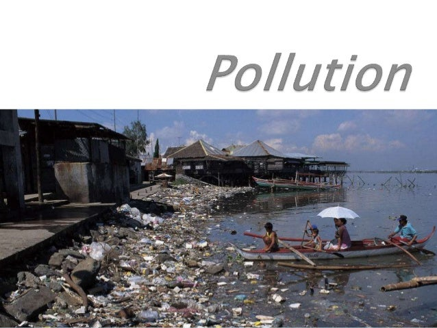 Pollution is the introduction of contaminants into the natural environment that cause advers change. Pollution can take th...