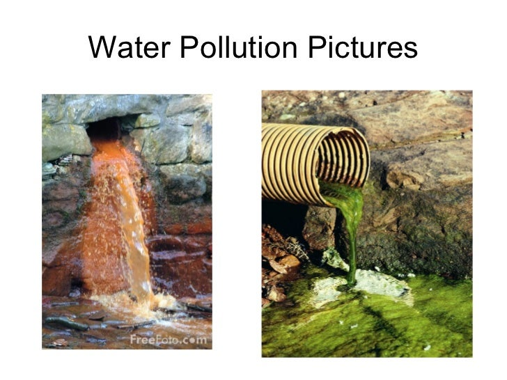 What Is The Nature Of Water Pollution