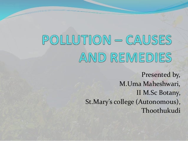 essay on water pollution and its effects Environmental pollution: its effects on life and its remedies essay water pollution is the contamination of any body of water essay on pollution in pakistan.