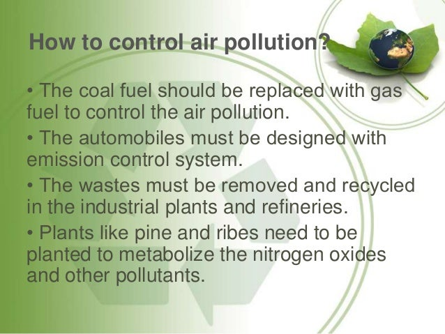 air pollution essay with images
