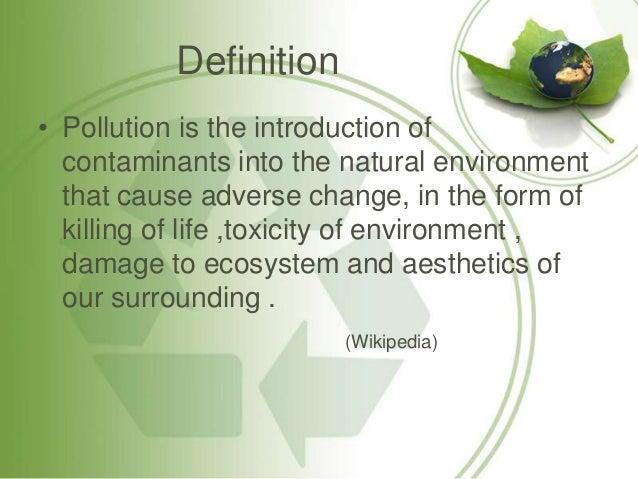 Essay On Environmental Pollution In Urdu