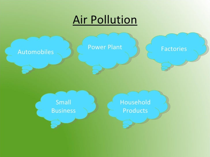 essay about air pollution solutions