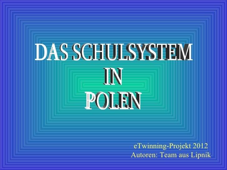 Polnisches schulsystem