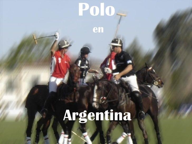 Polo en Argentina