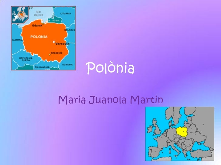 PolòniaMaria Juanola Martin
