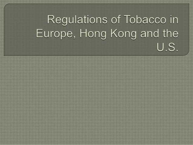 Pols 3620   tobacco trade