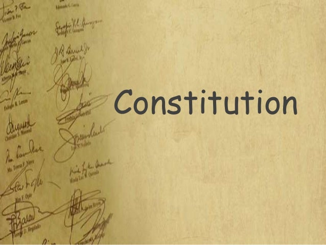 Polsc2   4 kinds of constitution