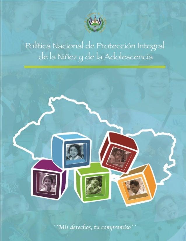 Política Nacional de Protección Integral de la Niñez y la Adolescencia 2013