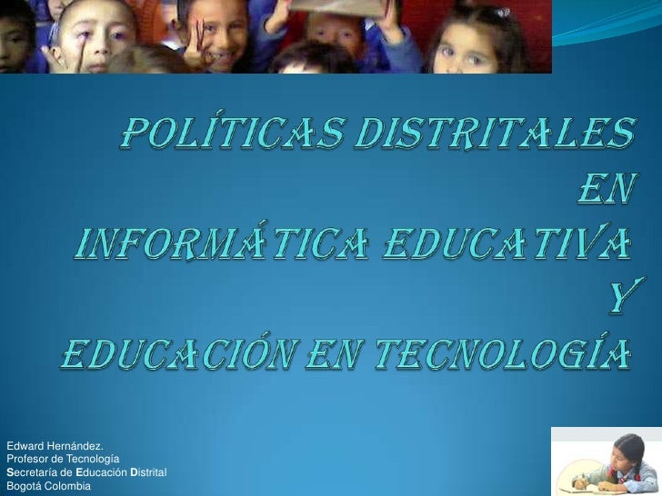 PolíTicas Distritales Edentec&Ie