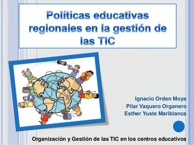 Políticas educativas regionales