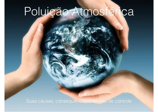 Suas causas, consequências e formas de controle Poluição Atmosférica