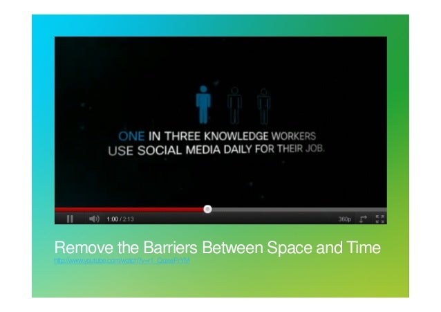 Pol Vanbiervliet, Cisco: remove the barriers between space and time