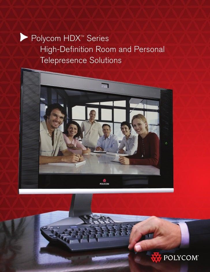 Polycom HDX Series Comparison