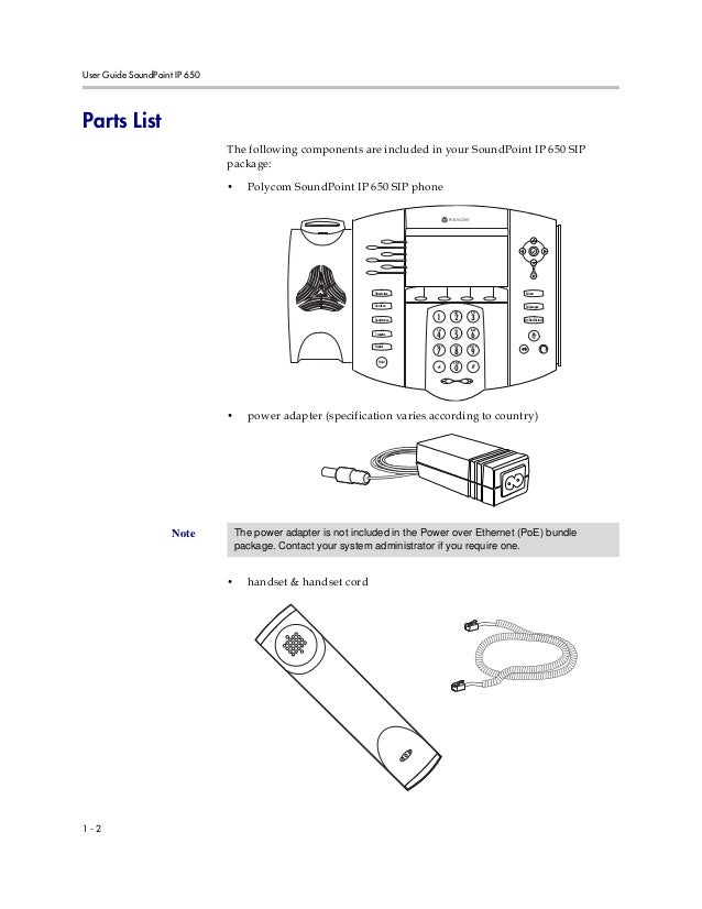 Polycom soundpoint ip650 user guide