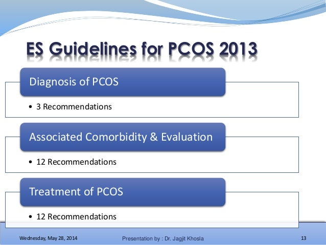 management of polycystic ovary syndrome Polycystic ovary syndrome medical reference - covering definition and evaluation through treatment authored by marjan attaran of the cleveland clinic.