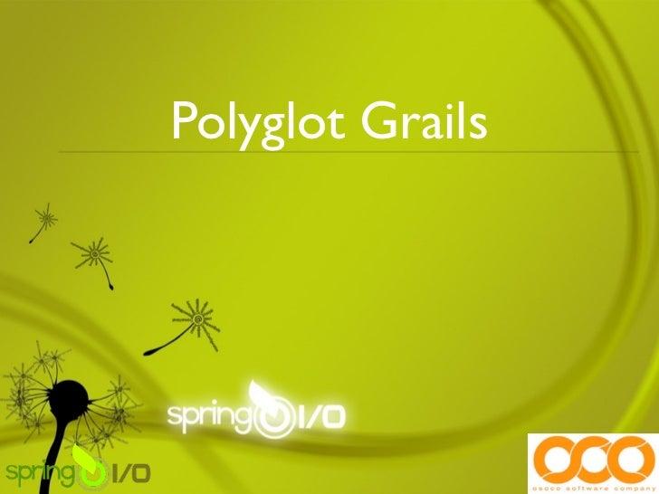 Polyglot Grails