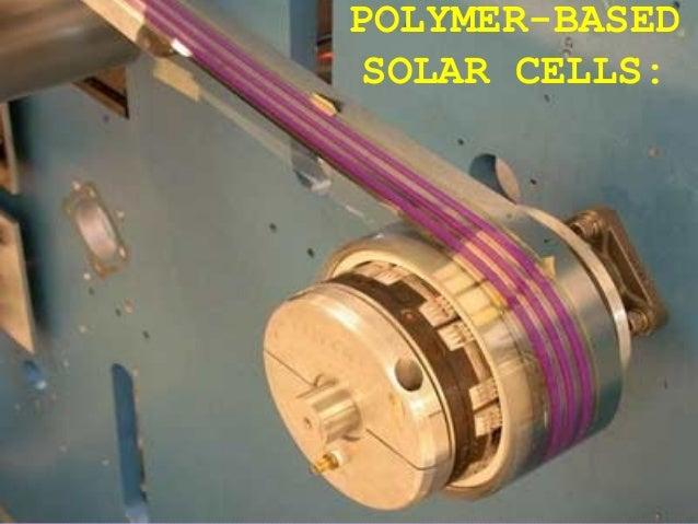 POLYMER-BASEDSOLAR CELLS:
