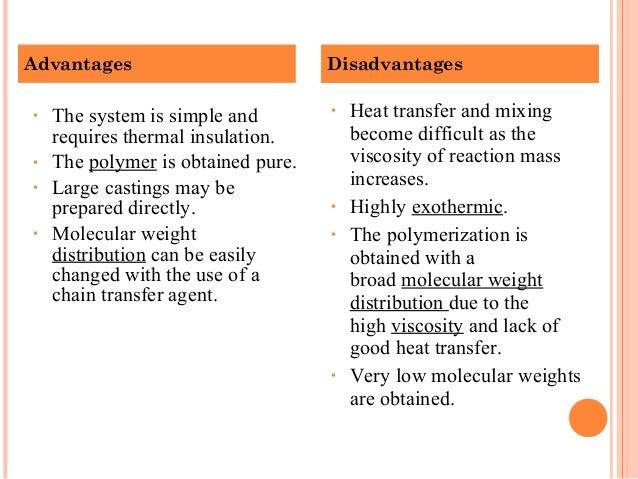 N Molecular Weight Polymerization techniq...