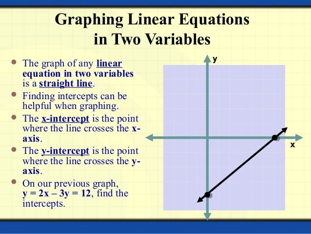 linear equations in two variables A system of equations is a collection of two or more equations with the same set of unknowns in solving a system of equations, we try to find values for each of the unknowns that will.