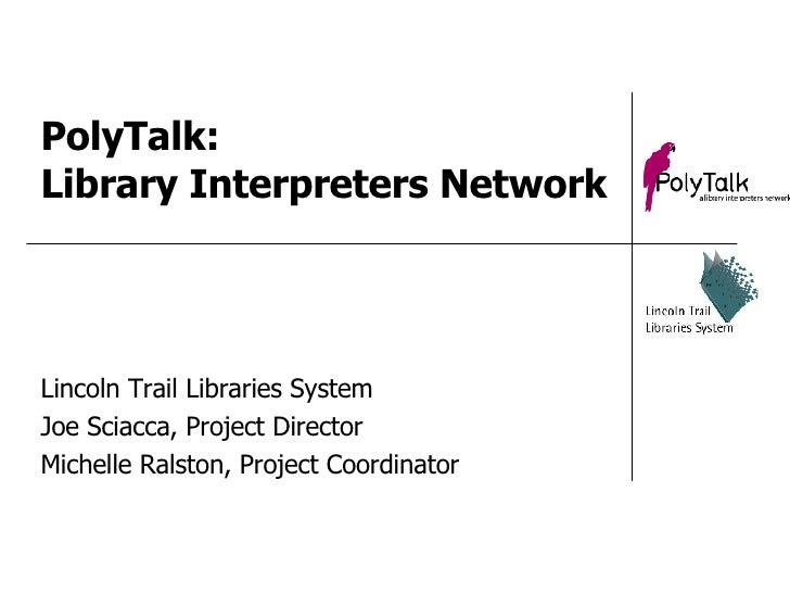 PolyTalk Interpreters Network