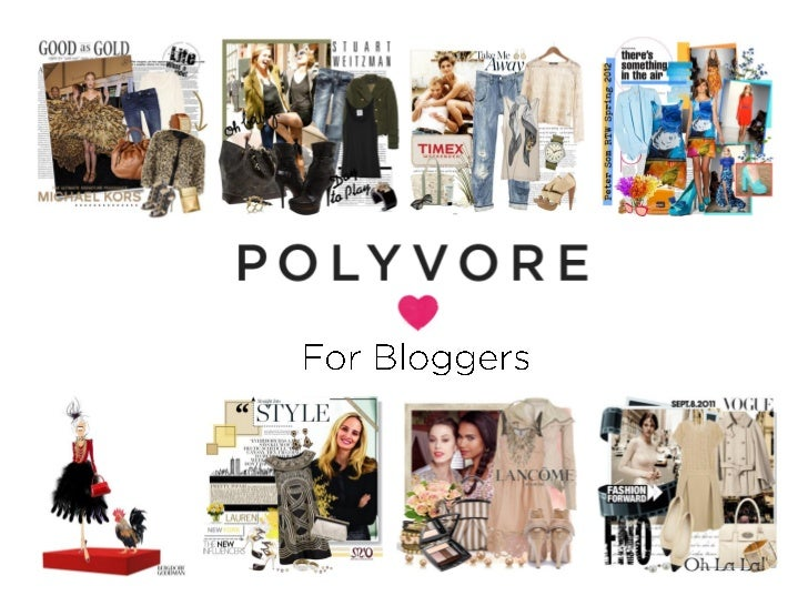 Polyvore blogger workshop for design bloggers