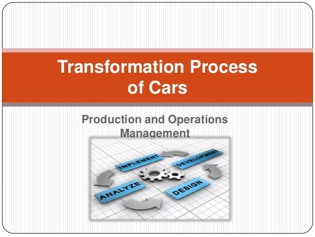 transformation process of manufacturing toyota cars How iot and big data improved toyota's manufacturing process toyota's jeff makarewicz explains how the car manufacturer uses the internet of things to expedite processes and response times.
