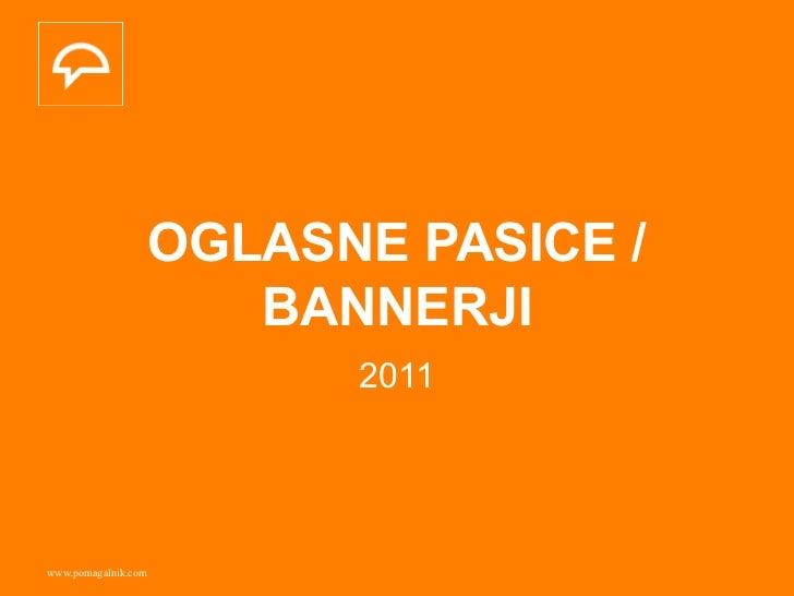 Pomagalnik / Oglasne pasice/bannerji