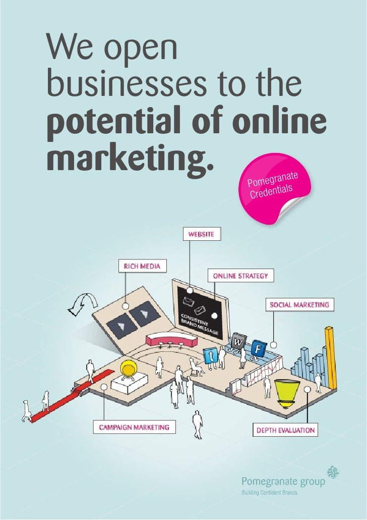 We open businesses to the potential of online marketing.         anate              Pomegr als                      i     ...